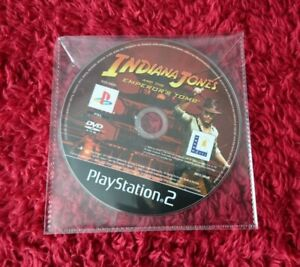 Indiana Jones Emperor's Tomb PS2 UK Disc Only Game Disc is Mint PlayStation 2