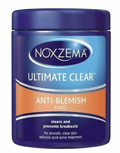 Noxzema Ultimate Clear Face Pads Anti-Blemish, 90 Count