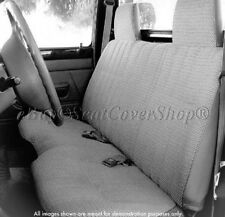 A25 Triple Stitched 10mm Thick Small Pickup Truck Bench Gray Seat Cover