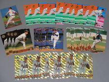 (37) Greg Maddux Box Set Card Lot 1994 Pinnacle Natural Stadium Members Only