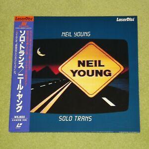 NEIL YOUNG Solo Trans - RARE 1985 JAPAN LASERDISC + OBI (Cat No. SM058-0128)