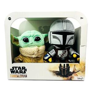 Disney's Star Wars The Mandalorian & Baby Yoda The Child Plush Combo Pack NEW