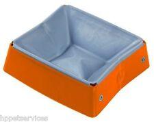 ESP Eat/Sleep/Play Folding Pet Dish, Orange