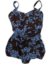 40's-50's PIN-UP SWIMSUIT PLAYSUIT  One Piece Perfection Fit By Roxanne 18/40