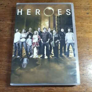 Heroes Season 1 DVD R4 LIKE NEW FREE POST