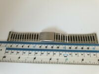 Vintage Mens Pulsar Stainless Steel Watch Bracelet With 17.5mm End Links