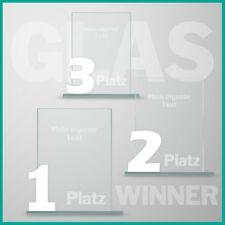 3er Glaspokal Serie mit Lasergravur günstig kaufen UNSER KAUFTIP !