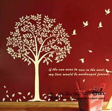 Giant Bodhi Tree Wall Art Decal Removable Vinyl Stickers Mural Home Decor Deco