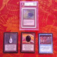 Magic repack : p9 black lotus, mox, time walk, alpha, fetchland dual bi land mtg
