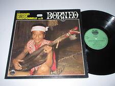 LP/BORNEO(MUSIQUES DE L'ASIE TRADITIONELLE Vol.6/Playa Saound PS33506 FOC