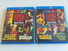 Hammer Films Double Feature (2 Blurays, see description for titles)