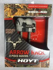 Hoyt Arrow  Quiver For Satori Recurve Bow Arrow Rack 4 Arrow Reaper Camo 2 Piece