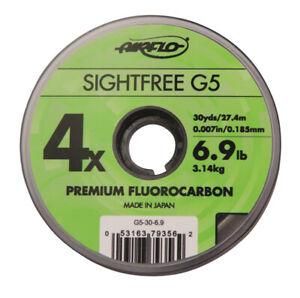 Airflo 110yds Sightfree G5 Premium Fishing Fluorocarbon - Various Sizes | NEW