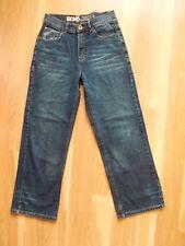 Ecko Unltd Jeans Sz 14 28/26 Straight Leg 5 Pocket Camo Detail Blue Denim 1972