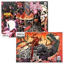 Venom #25 Wraparound & 3rd Print (2018 Marvel) Cates, 1st Virus, Codex Cameo! NM