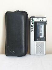 More details for philips 896 pocket momo director  mini cassette player/ recorder superrare