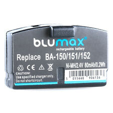 BLUMAX Akku für Sennheiser / AKG Kopfhörer Headset   BA150 BA151 BA152   65161  