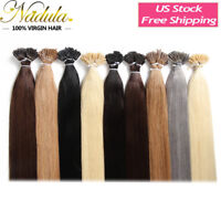 100S Pre Bonded Keratin Fusion Stick I Tip Hair 100% Remy Human Hair Extensions