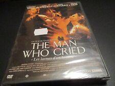 "DVD NEUF ""THE MAN WHO CRIED"" Christina RICCI, Cate BLANCHETT, Johnny DEPP"