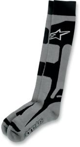Alpinestars Black Tech Coolmax Small Medium S M Riding Socks 4702114-107-SM