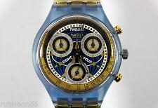 SWATCH original Swiss made CHRONO SCN114 quartz watch New old stock