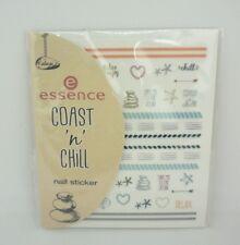 essence Coast'n'Chill selbstklebende Nagelsticker 01 The Coast & my nails