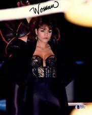 "BECKETT-BAS NANCY BENOIT ""WOMAN"" AUTOGRAPHED-SIGNED 8X10 WWE-WWF PHOTO C32817"