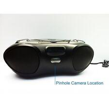 WiFi Night Vision Bluetooth Boombox Spy Hidden Nanny Camera