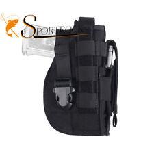Molle Outdoor Military Gun Handgun Pistol Holder Holster Pouch for Right Hand