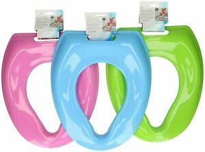 Kids Trainer Plastic Toilet Seat Cover Training Toddler Bathroom Loo Child Seat