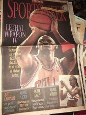 Philadelphia Daily News April 27, 1995 Sportsweek Michael Jordan Lethal Weapon 4