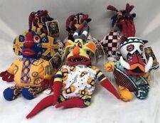 Disney Plush Toys Lion King Trickster Set of 6 New Julie Taymor Broadway Dolls