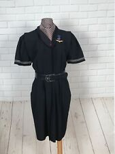 Vintage American Airlines 1980's Uniform Dress With Accessories