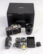 Fujifilm X-T3 26.1MP Digital Camera Silver (Kit with XF18-55MM F2.8-4 R LM OIS)