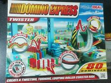 DOMINO EXPRESS TWISTER CREATE A LOOPING ROLLER COASTER RIDE FROM IDEAL