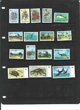 A SET OF UNMOUNTED MINT STAMPS FROM BARBUDA