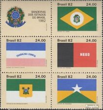 Brazil 1937-1941 Six block (complete.issue.) unmounted mint / never hinged 1982