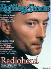 Rolling Stone 2008/01 (Radiohead)
