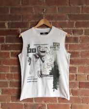 Rare Raf By Raf Simmons Men's Sleeveless T-Shirt Mens Sz XS