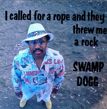 SWAMP DOGG - I CALLED FOR A ROPE AND THEY THREW ME A ROCK - SDE LP - SEALED