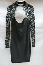 NaaNaa ASOS Dress - Stunning Black Dress - Bnwt - New -  Size UK 8