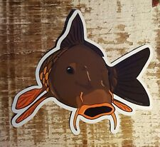 """Fishing Bumper Stickers CARP 4 1/2"""" x 4"""" decals saltwater fly fishing"""