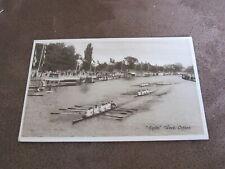 Early postcard - Oxford Eights week - Rowing regatta  - Henley ???