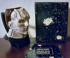 STAR TREK - DEEP SPACE NINE - CARDASSIAN FIGURAL MUG - 1994 - APPLAUSE - MIB