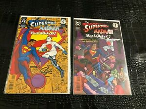 THE SUPERMAN MADMAN HULLABALOO! #1-3 (1997) complete comic series (BX1)
