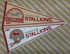 Birmingham Stallions Full Size USFL football Pennant (2)