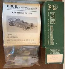 1979 Ferrari 312 T4 Scheckter Villeneuve FDS No. 78 1:43 F1 White Metal