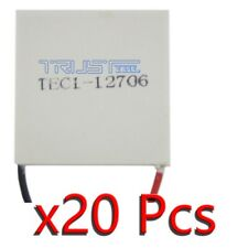20 TEC1-12706 60W Heatsink Thermoelectric Cooler Cooling Peltier Plate Module