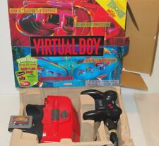 Nintendo VIRTUAL BOY Console Set COMPLETE IN BOX! Beautiful Shape w/ POP Tested!