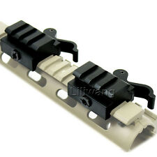 "2Packs Quick Release Detach 1/2"" Mini Riser QR Block Mount For Picatinny Rail"